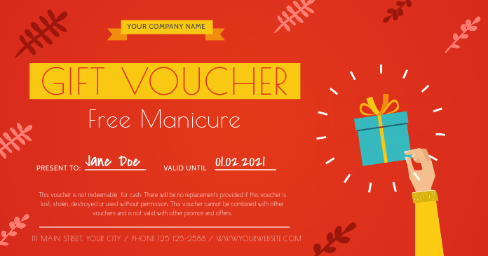 Salon Gift Voucher