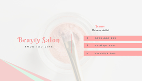 50 customizable design templates for hair salon business card