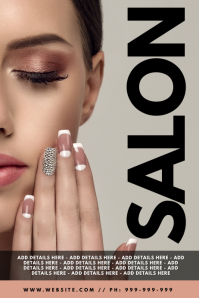 Salon Poster template