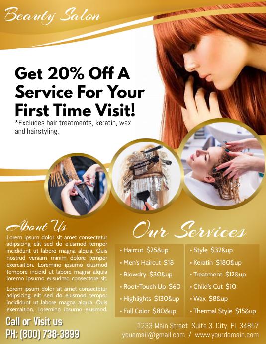 Salon Service Iflaya (Incwadi ye-US) template
