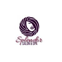 SALON SPA BEAUTY SHOP LOGO design Logotipo template
