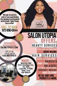 salon template