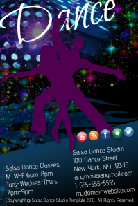 Salsa Dance Studio Twpemplate