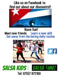 Salsa discount flyer