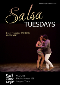 Salsa Night Evening Party Event Latin Dance