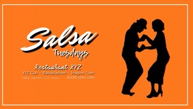 Salsa Night Party Latin Dance Restaurant Bar