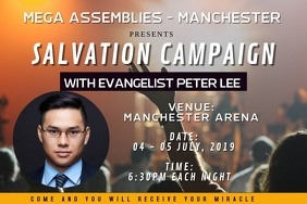 Salvation Campaign Banner Design