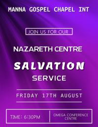 Salvation Event Template