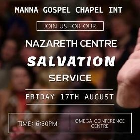 Salvation Service VideoEvent Template
