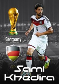 Sami Khedira Poster