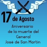 San Martín Instagram-bericht template