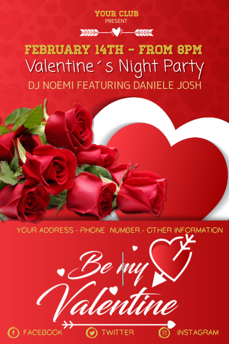 San Valentine´s Day Night Party