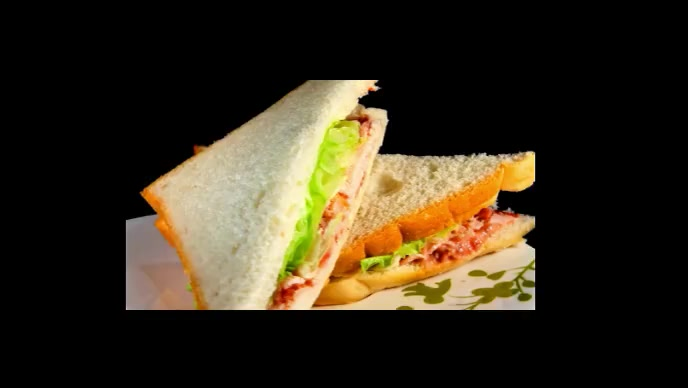 Sandwich Facebook Cover Video (16:9) template