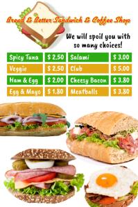 Sandwich Shop Template