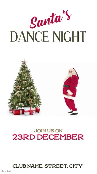 Santa's dance night