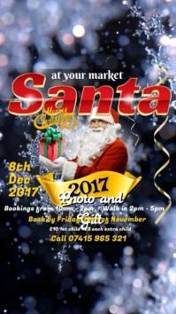 Santa at your market Instagram post
