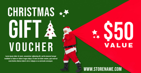 Santa Christmas Gift Voucher