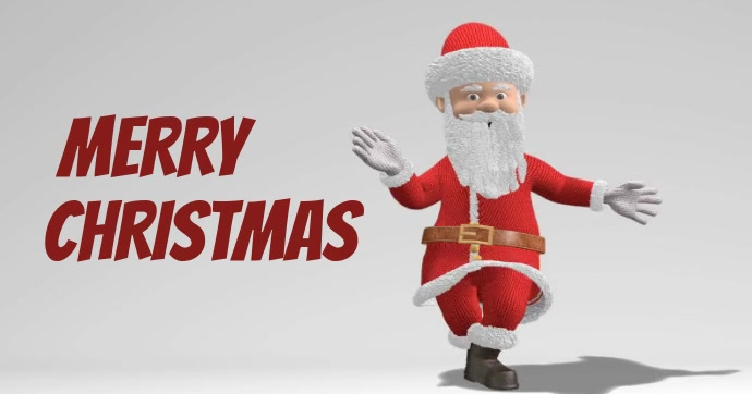 Santa Claus Facebook Shared Image template