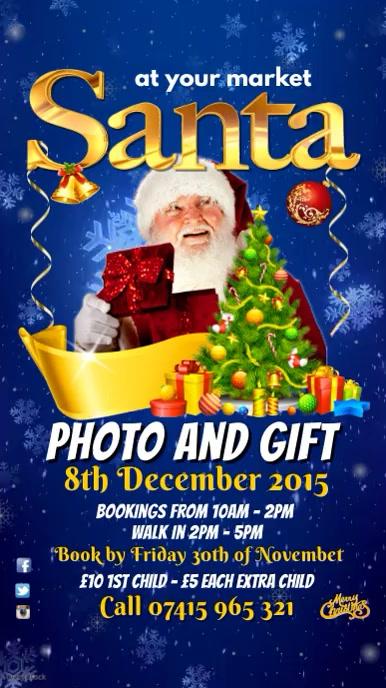 Santa Event Instagram Template