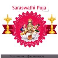 Saraswathi Puja Instagram Post template