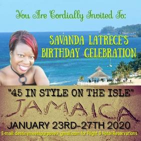 Savanda's Birthday Celebration Jamaica