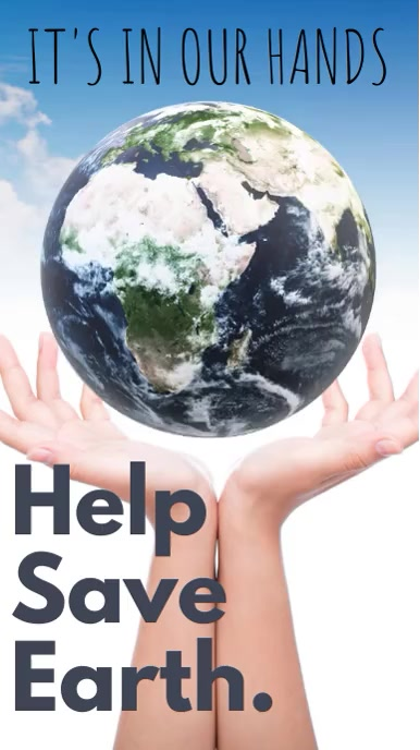 Save Earth Video Template