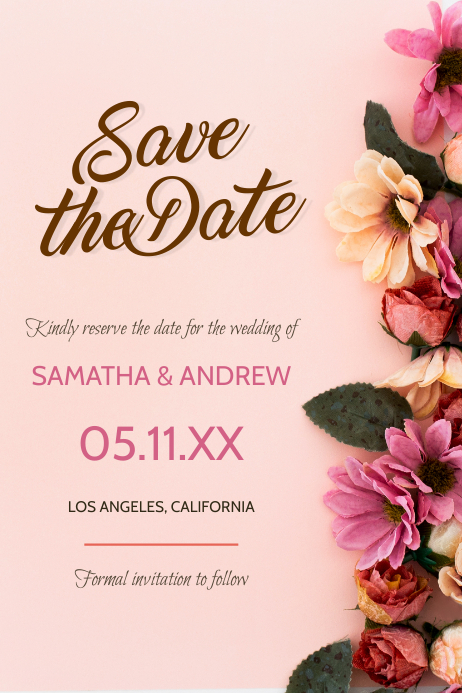 Save the Date - Beautiful