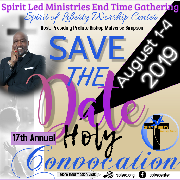 Save the Date Church Convocation