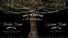 Save the Date Google+ Cover Image template