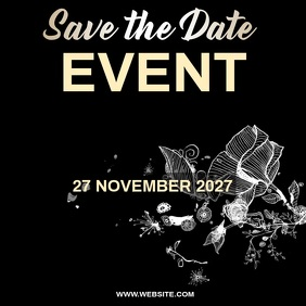 save the date EVENT AD