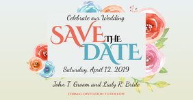 Save The Date facebook Template