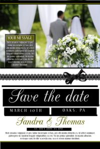 Save The Date Flyer Template Maggilocustdesignco - Save the date flyer template
