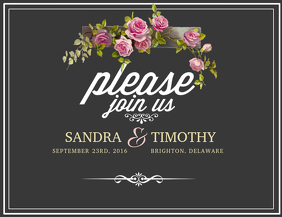 310 customizable design templates for save the date postermywall