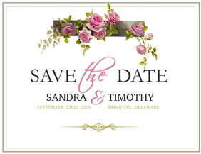 550 customizable design templates for save the date postermywall