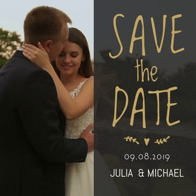 Save the Date Instagram Video