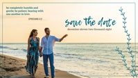 Save The Date June Wedding Template Blog Header