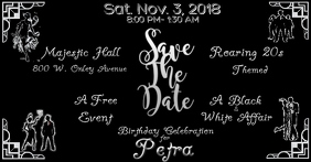 Save The date Party Flyer