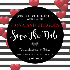 Save the Date Video Invitation Template