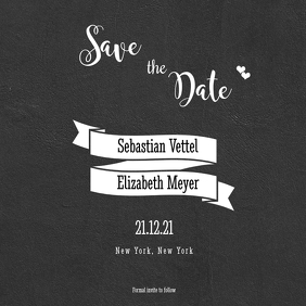 Save the Date - Whimsical