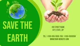 Save the Earth Business Card