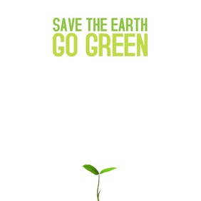 Save the earth Video Template for instagram