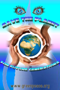 Save the Planet Poster