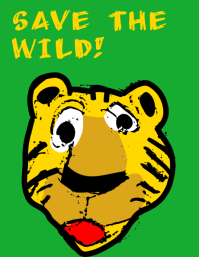 Save the wild poster