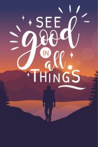 Scenic Motivational Poster