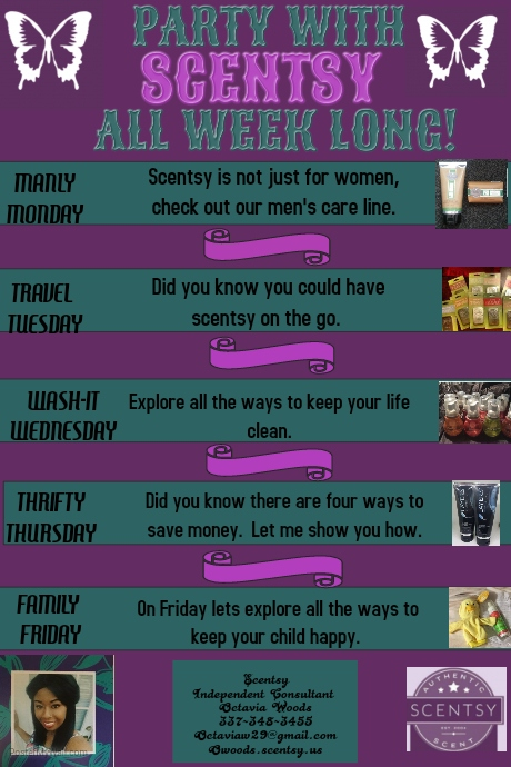 scentsy template postermywall