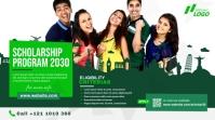 Scholarship Announcement Ad Publicación de Twitter template