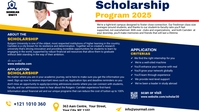 Scholarship Program Ad Publicación de Twitter template