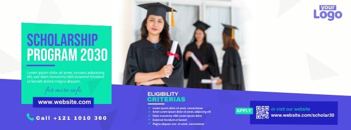 Scholarship Program Facebook Cover template