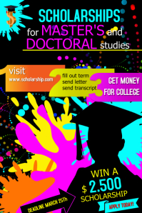 scholarship1 Poster template