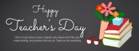 School,back to school,teacher's day Facebook Cover Photo template